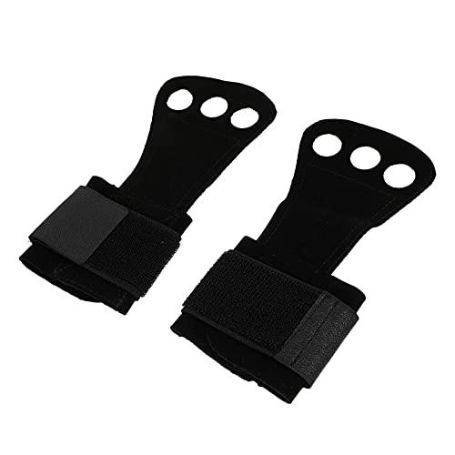 DOITOOL 1 Coppia Da Polso Guardie Cinghie di Sollevamento con Il Dito Loops Non- Slip Palm Supporto per Il Polso Della Mano Grip Guanti Gear per Pull Up Tirare Impianti di Risalita di