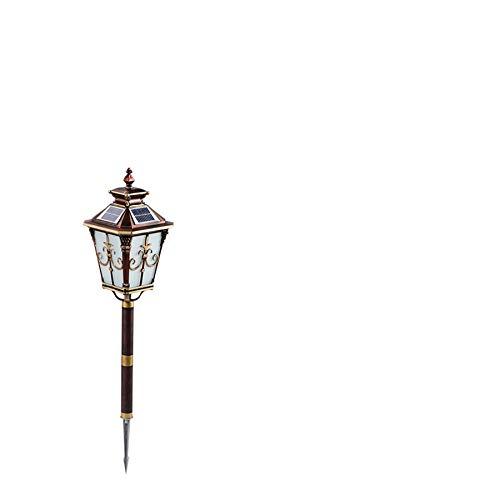 Ziyi balizas solares de Jardin,antorchas de Jardin,Lámpara de césped para Exteriores,Pasador de Hierro Forjado Grueso,Duro y Duradero,Adecuado para Barro