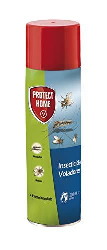 Protect Home - Insecticida Voladores, efecto persistente, spray para eliminar moscas, mosquitos y otros insectos voladores, 500ml