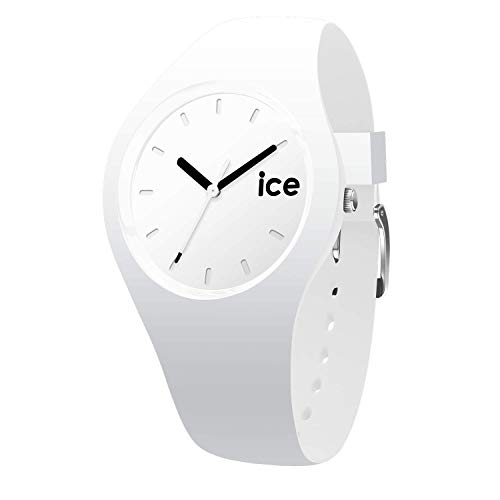 Ice-Watch - ICE ola White Black - Women's wristwatch with silicon strap - 000992 (Small)