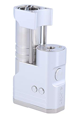 aspire Mixx 60W Akkuträger (Box Mod) für e zigarette   VW   VV   BYPASS - Farbe: silber, 42230