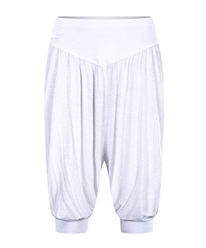 Aivtalk Pantalones de Yoga Pantalones Bombachos Estilo Harén Pantalón Casual Pantalones Anchos Sólidos para Fitness Deportes Bailes Talla Grande
