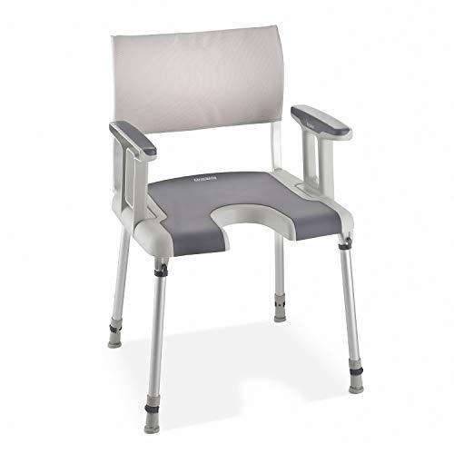 Aquatec® Sorrento silla de ducha con Recorte higiénico 🔥