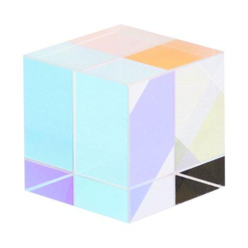 Lyguy Prisma Spiegel, Magical Beam Combine Cube Prisma Blue Diode Modul Neuartiges Spielzeug