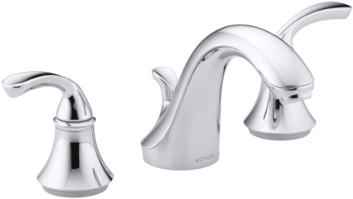 Kohler 507081 Forte Bathroom Sink Faucet, Polished Chrome