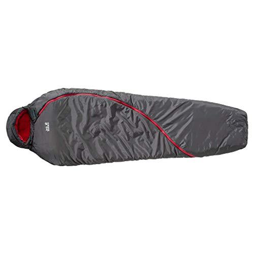 Jack Wolfskin Unisex Adults' 4.055E+12 Sleeping Bag, Multicolor, One Size, Gris, Talla Única