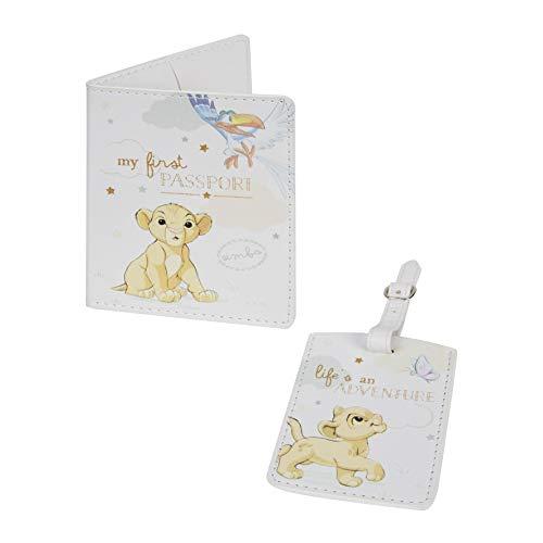Disney Passport Holder and Luggage Tag Set -Simba