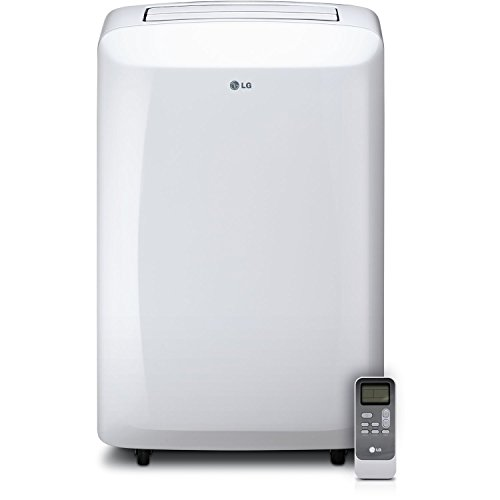 LG 10,000 BTU 115V Portable Air Conditioner with Remote Control, White (Certified Refurbished)