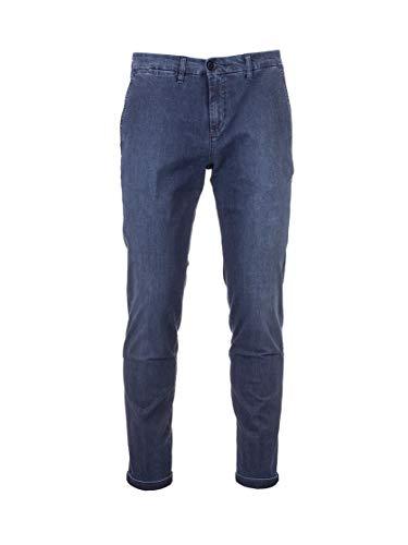 Fay Luxury Fashion Uomo NTM8640187LRWPU604 Blu Elastan Jeans | Primavera-Estate 20