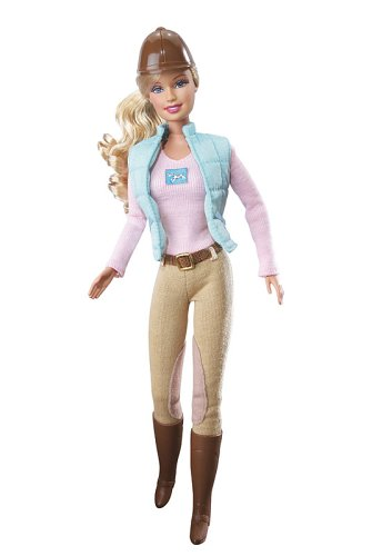 Mattel J05450 - Barbie Reiterin, Forever Barbie Welt