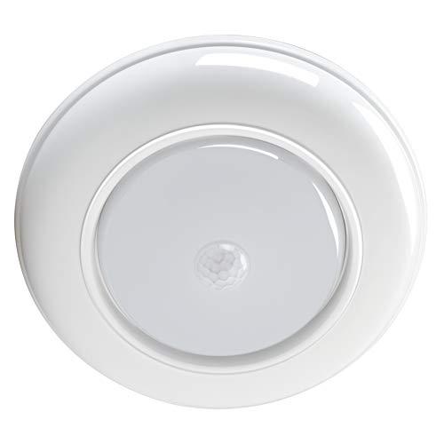 WOOPHEN LED-Deckenleuchte, kabellos, batteriebetrieben, Bewegungsmelder, 180 Lumen, weißes Nachtlicht Modern warmweiß