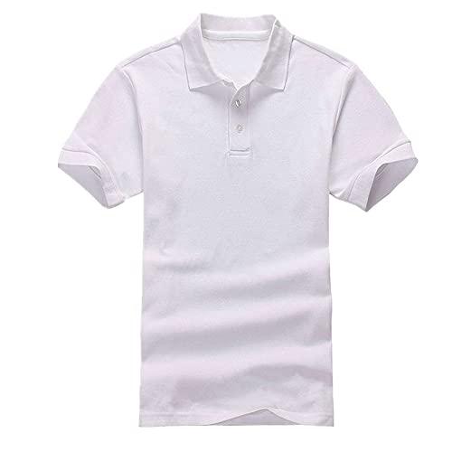 N\P Manga corta de las señoras de la camisa azul marino azul negro de las señoras del color sólido del algodón sin