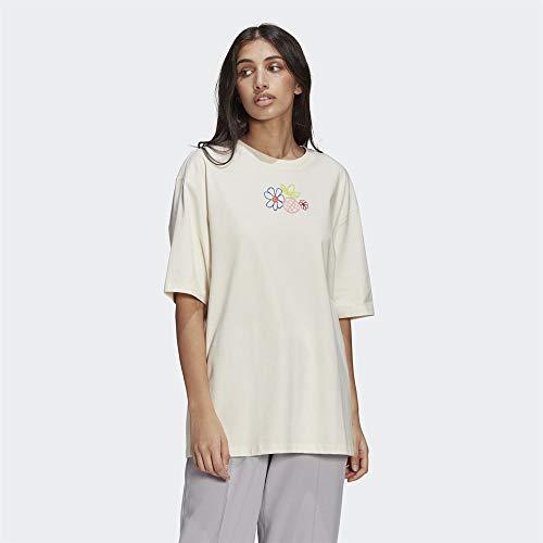 adidas GP3497 tee T-Shirt Womens Non-dyed 42