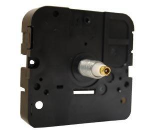 Takane Complete Mini Quartz Clock Movement- Medium Shaft for 3/8' Maximum Dial Thickness