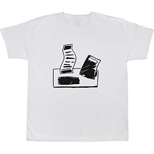 Azeeda \'Papierrechnungen\' Baumwoll-T-Shirt für Babys / Kinder (TS00053519)