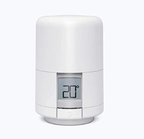 Hive UK7004240 Smart Heating Thermostatisches Heizkörperventil (TRV) mit Smartphone-Kompatibilität, weiß