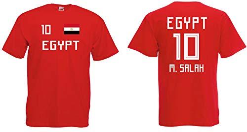Egypt Salah T-Shirt Trikot WM-2018 Look
