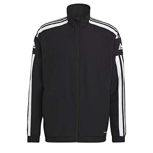 adidas GK9549 SQ21 PRE JKT Jacket Mens Black/White M