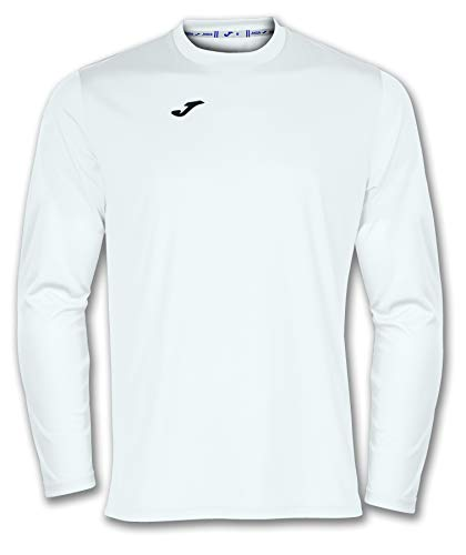 Joma 100092.200 T-Shirt Manches Longues Sportswear, Blanc, FR : L (Taille Fabricant : L)