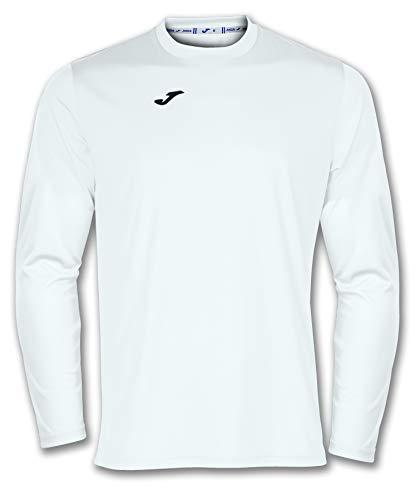 Joma 100092.200 - Camiseta de equipación de Manga Larga para Hombre, Color Blanco, Talla M