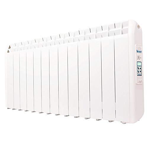 farho Riscaldamento Elettrico a Basso Consumo XP 1430W (13) · Termosifone Elettrico con Cronotermostato Digitale Programmabile 24 7 e Opzione WiFi · per soggiorni a 22 m² · 10 Anni di Garanzia