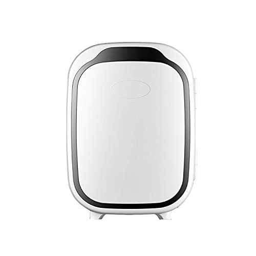 Home Car Dual-Purpose Small Refrigerator, Multi-Function Portable Refrigerator, Beverage, Cosmetics, Medicine, Food Cold Storage 6L