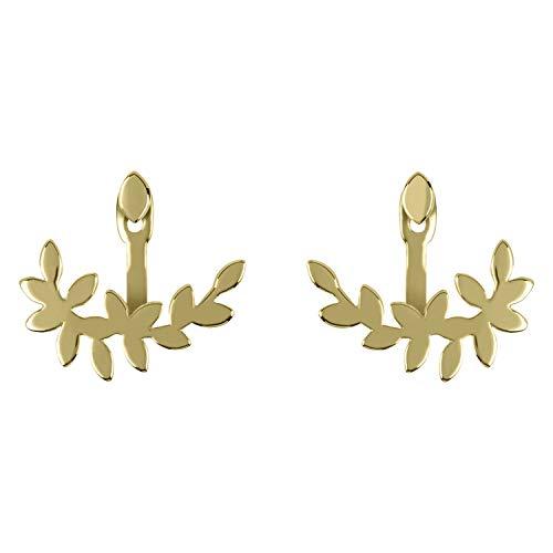 Sara Miller Gold Leaf Collection SAJ1030 - Orecchini da donna placcati in oro 18 kt