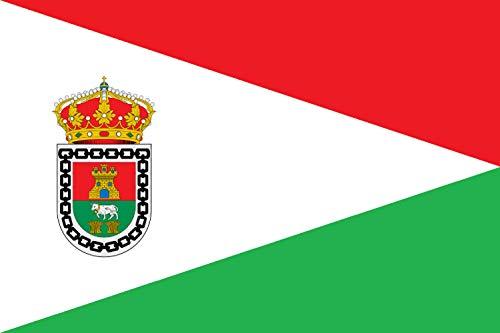 magFlags Bandera Large Valle de Valdebezana Burgos | Bandera Paisaje | 1.35m² | 90x150cm