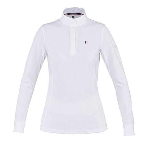 Kingsland Turniershirt Damen LS Classic Größe: XXS Farbe: Weiss