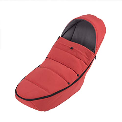 Baby GOUO Universal Poussette Sac de Couchage Pare-Brise Protection Contre Le Froid Couverture de Pied Chaud Parapluie Hiver Sac de chancelière rembourré Coupe-Vent Universel (100 * 45cm)