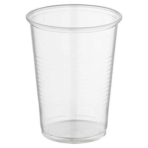 1-PACK Trinkbecher transparent klar mit Eichstrich 0,4 l, 400 ml, PP, 200 Stück