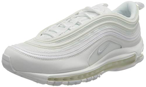 Nike Women's W Air Max 97 Track & Field Shoes, White Grey, 4.5 UK
