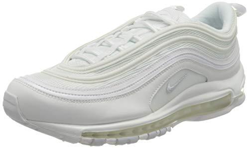 Nike W Air Max 97 Scarpe da Atletica Leggera Donna, Bianco White/Pure Platinum 100), 39 EU