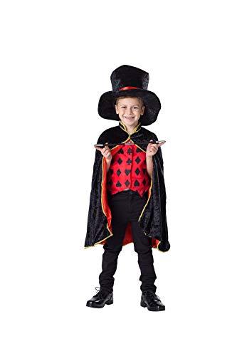 Dress Up America Mago Juego de Disfraces para niños 4-6 años (talla: 71-76, altura: 99-114 cm) (232-S)