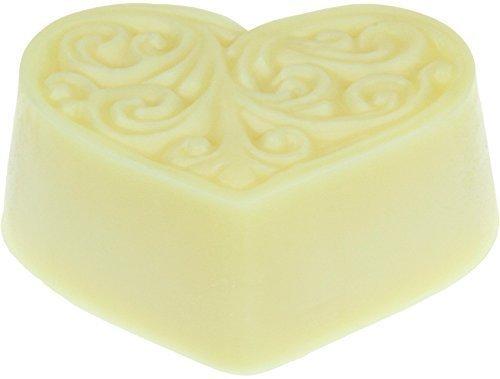 Greendoor Bodycreme-Herz Ingwer Grapefruit 80g, Körper-Butter, festes Massageöl, Hautpflege mit BIO Sheabutter, BIO Kakaobutter, natürlich ohne Tierversuche, Geburtstagsgeschenk Geschenke