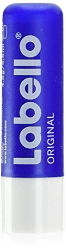 Labello Original Lippenpflegestift im 1er Pack (1 x 4,8 g), Lippenpflege für natürlich schöne Lippen, Lippenbalsam ohne Mineralöle schützt vor dem Austrocknen