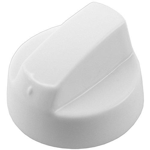 spares2go weiß Einstellknopf für Bosch Backofen & Herd (Reduzierstück oder 8+ Adapter) Pack Quantity: 1