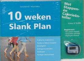 10 weken Slank Plan: inclusief Stappenteller en Calorieenteller