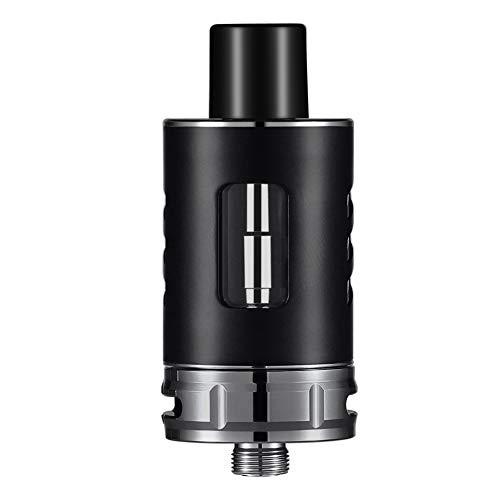 E Cigarette Shisha Zigarette Starterset Tank 2,0 ml Top Refill Verdampfer + 0.25Ohm Verdampferköpfe+Glas für60W Kit,ohne Nikotin&E Liquid aroma