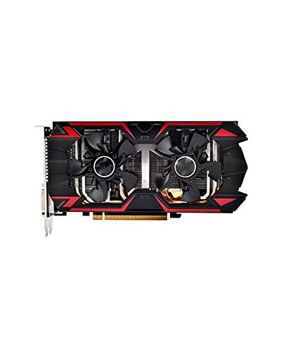 GUOQING Enfriamiento de Doble Ventilador Fit For DATALAND R9 380 Tarjetas gráficas de 4GB GPU Fit For AMD Radeon R9-380 R9380 Tarjeta de Video Mapa de Juegos de computadora 1792SP 980MHz Mainstream
