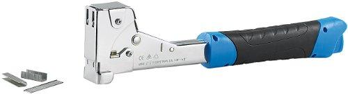 AGT Tackerhammer: Stahl-Hammertacker für Heftklammern bis 12 x 17 mm (Klammer Hammer)