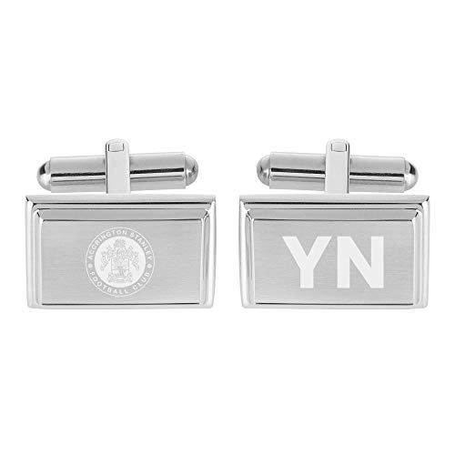 Official Personalised Accrington Stanley Crest Cufflinks