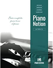 Escalas, Arpegios, Acordes, Ejercicios por Piano Notion: Guía completa para tocar el piano (Método Piano Notion / Español)