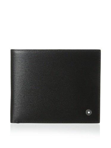 Montblanc Westside 8cc Men#039s Large Leather Wallet 8372