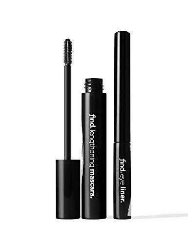 Marchio Amazon - find. Metallic Mist (Mascara allungante nero + Eyeliner blu metallico)
