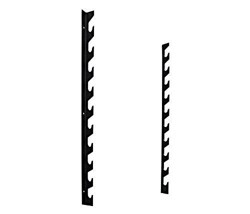 AFW 105115 105115-Pack 10 Barras de Pared, Color Acero, Talla M, Hombres, U