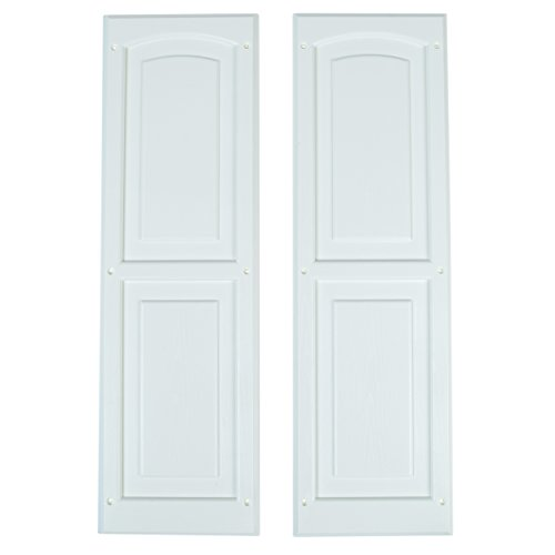 """Handy Home Products Window Shutter Pair, 8"""" x 24.5"""""""