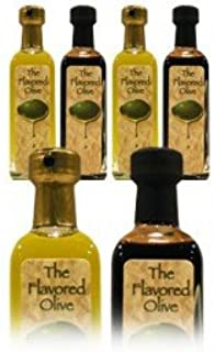4 Small Bottle, 2 Olive Oil (Cold Pressed, Harvested December 2015) and 2 Balsamic Vinegar