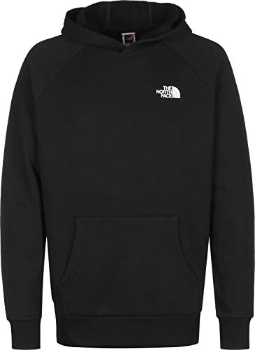 The North Face Raglan Red Herren-Sweatshirt mit Kapuze Gr. XS, TNF Schwarz