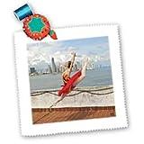 3dRose Kike Calvo Bettlaken Ballerina Dances and Leaps Next